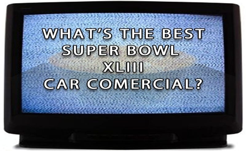 What's The Best Super Bowl XLIII Car Commercial?
