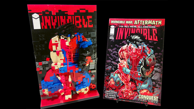 Classic Comic Book Covers Rebuilt With LEGO | Kotaku UK