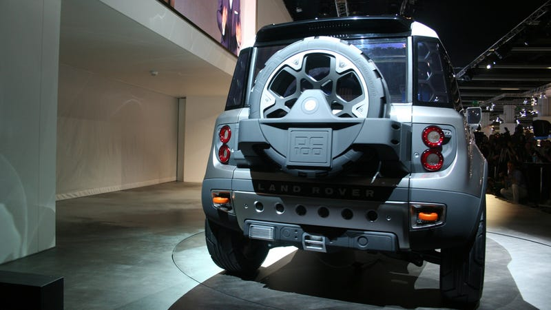 Land Rover DC100 concept Frankfurt Gallery