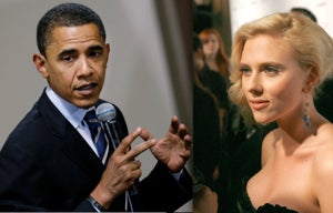Obama Denies Textual Relations With Scarlett Johansson