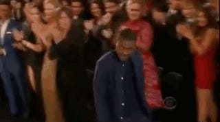 Everyone Gives Frank Ocean a Standing Ovation (Well, Except for Chris Brown)