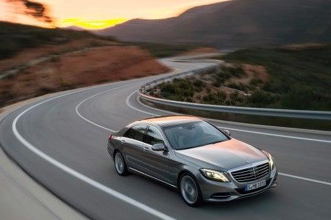 New Mercedes S-class 'Pullman' going after Rolls Royce Phantom
