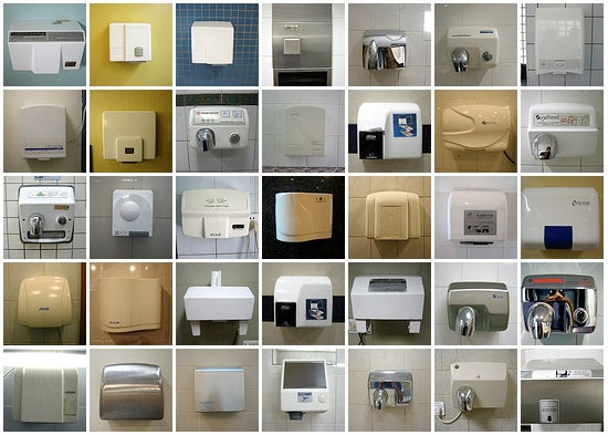 Electric Hand Dryers From Around the World
