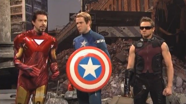 SNL reveals what happens when Hawkeye runs out of arrows