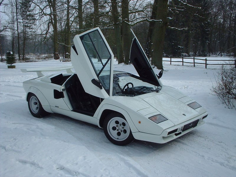 Lamborghini Countach 5000S: Supercar Teardown