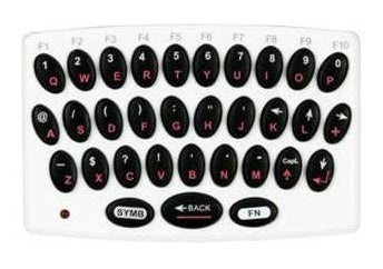 Logic 3 Wireless Wii Keyboard Activates Couch Typing Mode