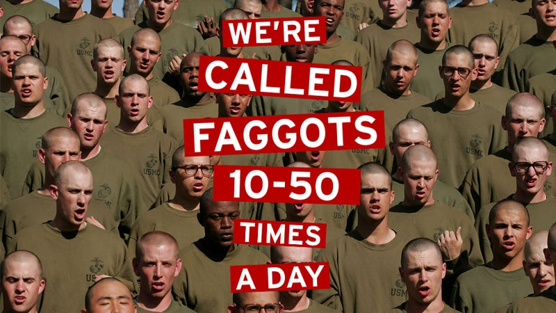 Don't Ask, Don't Tell, Faggot: Inside Marine Corps Boot Camp