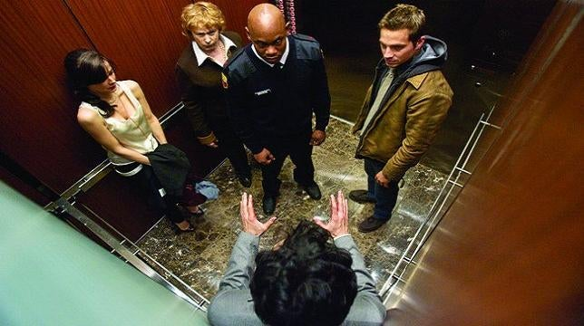The elevator paradox proves your elevator always goes the wrong way