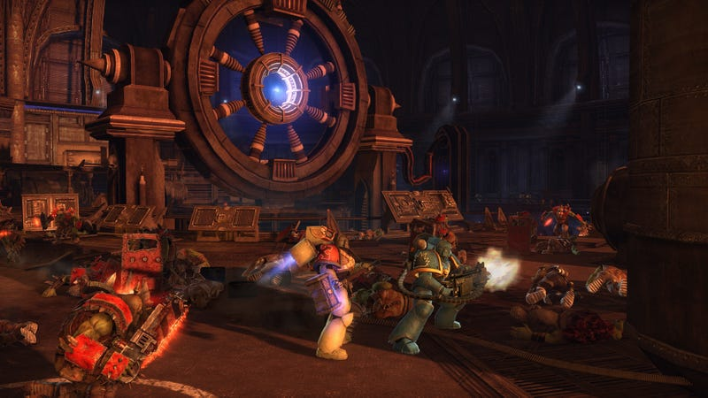 Co-Op Multiplayer for Warhammer 40,000: Space Marine Arrives Oct. 25