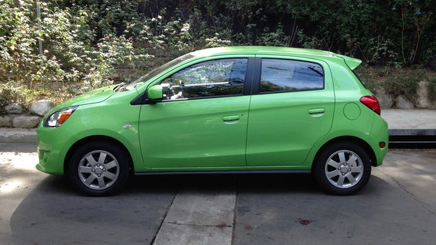 2014 Mitsubishi Mirage: The Jalopnik Review