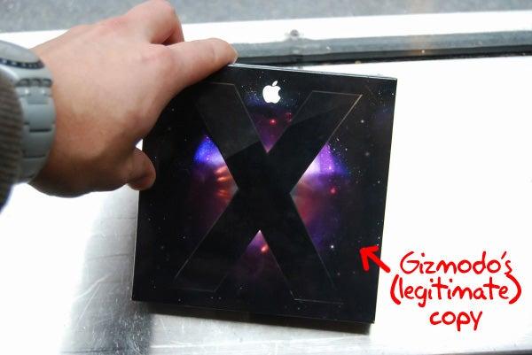 Oh Mac OS X Leopard Box