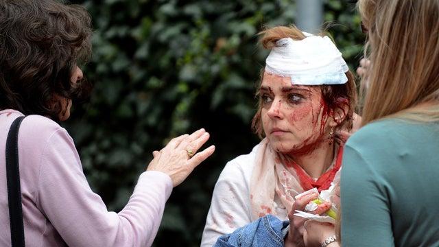 Explosion Rocks Prague, Injuring 40 and Lindsay Lohan's Doppleganger