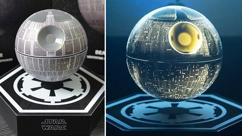 A Tiny Death Star Is the Only Reason You Should Buy a Levitating Speaker