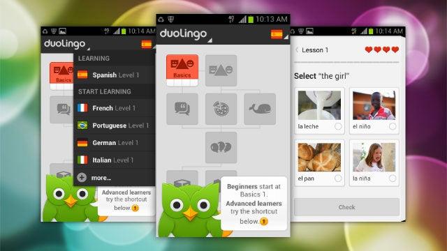 Duolingo Teaches You a New Language on the Go