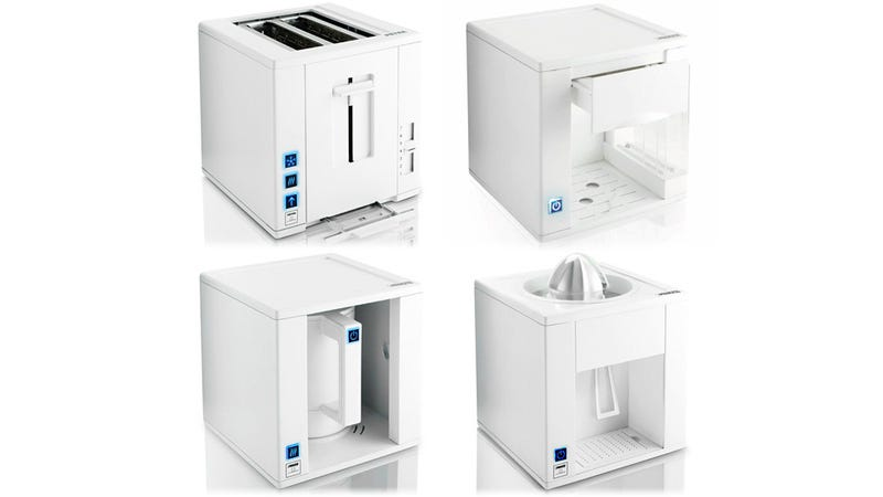 Space-Saving Kitchen Appliance Cubes Fit Together Like Lego