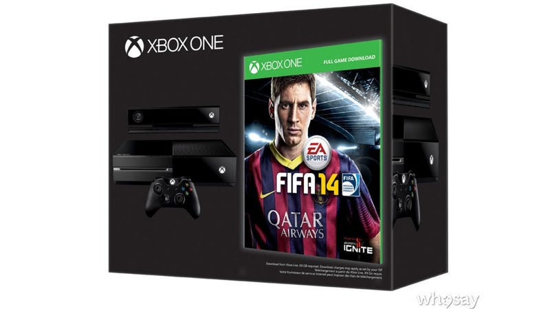 Europeans Get FIFA 14 For Free if They Pre-Order Xbox One