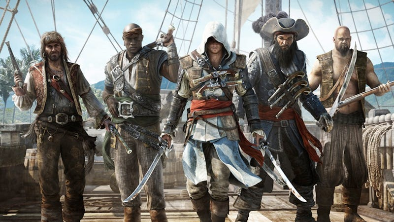 The Present Day Part of Assassin's Creed IV Is a First-Person Adventure
