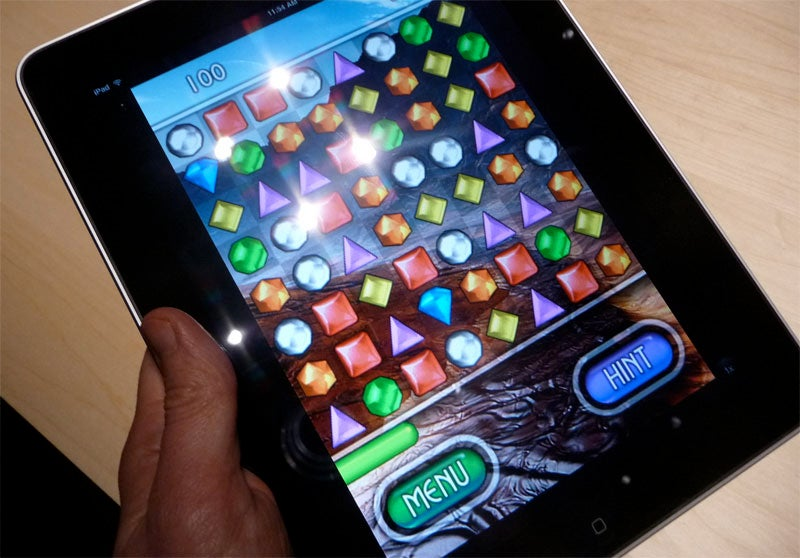 Hands On With Apple's iPad, Just The Games