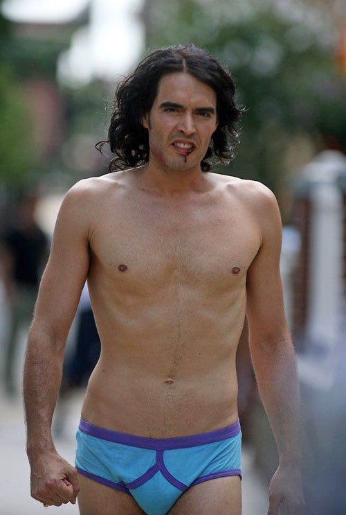What's Up With The Bloody Lip & Manties, Russell Brand?
