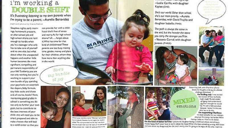 Yearbook Pages Dedicated to High School's Teen Parents Cause Outrage
