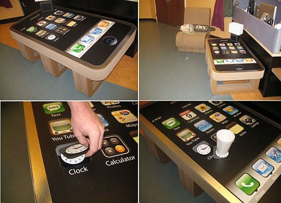 iPhone Coffee Table is a One Way Ticket to Lonelytown