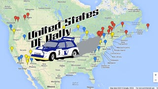 Where's Rally? A Map of All 2014 North American Stage Rallies
