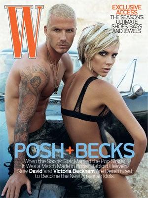 Posh 'N Becks In 'W': A Fag And His Hag