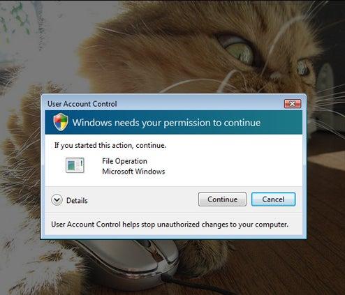 Microsoft: We Designed Vista User Account Control to Piss You Off