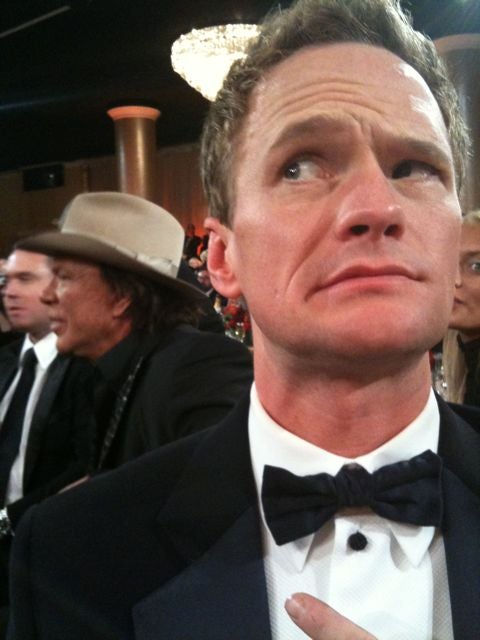 Blurry Photos: Neil Patrick Harris Scared of Mickey Rourke, Jenna Fischer In the Can