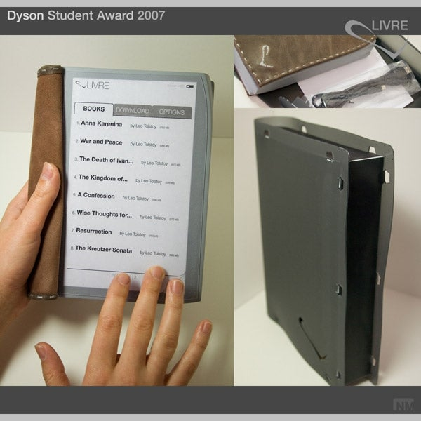 LIVRE, a Compromise on the E-book