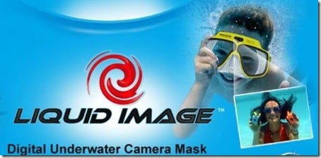 Liquid Image Camera-Mask Lets You Shoot Video, Take Pics Underwater