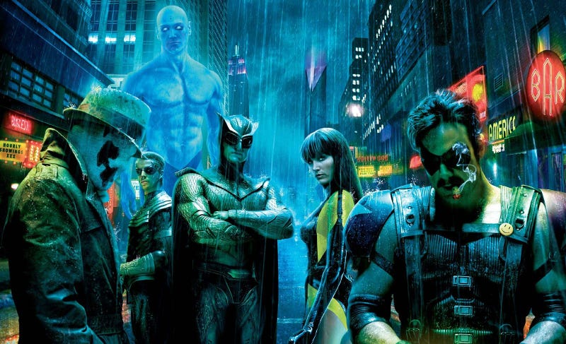This is the insane way Terry Gilliam's Watchmen movie would have ended
