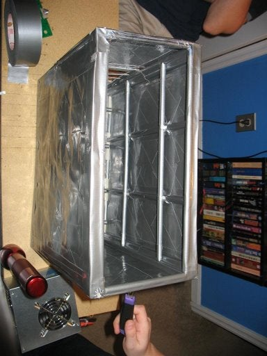 If You Build a PC Case Out of Duct Tape, Geeks Will Come