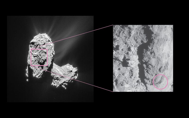 What In the World Just Happened to Comet 67P?