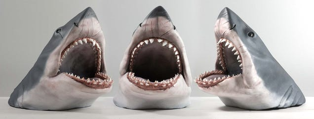 You Can Customize the Level of Gore Detail On This Jaws Shark Bust