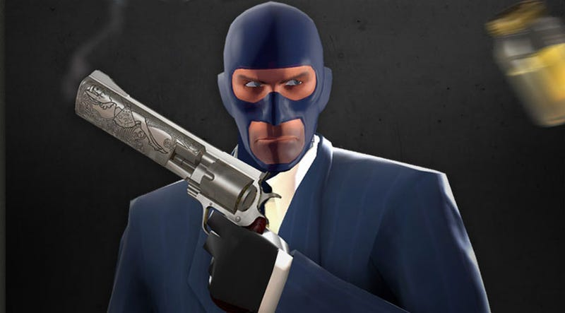Team Fortress 2 Sniper Actually Getting Urine Grenades? Yes, He Is