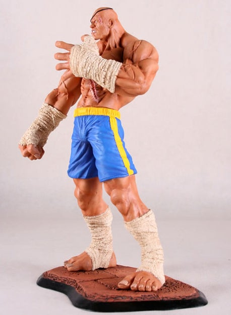 Sagat's Big Hands Are All The Better To [Something] You With