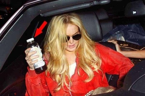 Lindsay Lohan's Favorite Gross Tea Could Soon Be Treated As Alcohol