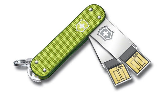 Grab This Swiss Army USB Drive and Waltz Your Way Through TSA Screens