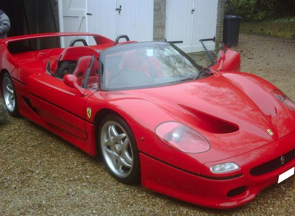 The Sultan Of Brunei's Old, Junky Ferrari F50 Can Be Yours