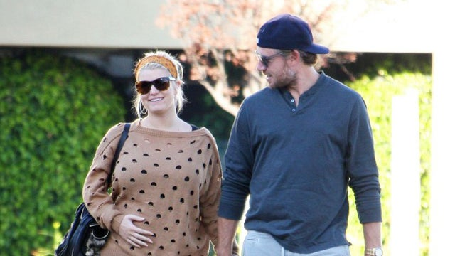 Jessica Simpson Finally Revealed She's Pregnant Because The 'Stomach Spoke For Itself'