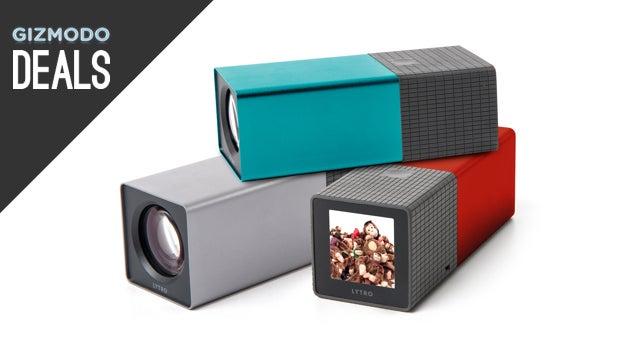Lytro Cameras over 50% off, DIY Ice Cream, ThinkGeek [Deals]