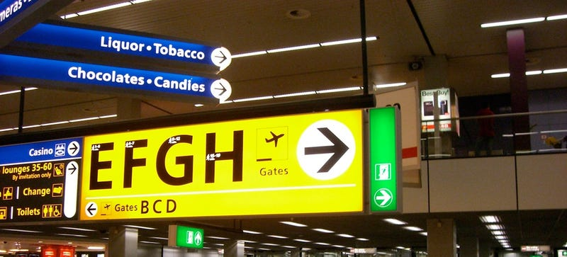 Why the Same Three Typefaces Are Used In Almost Every Airport