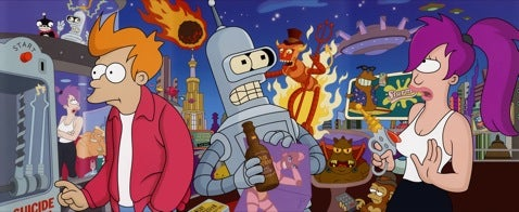 Futurama Back in November as a Feature-Length HD DVD