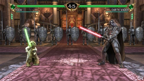 "There Are ""No Plans"" For Yoda v Vader In Soul Calibur IV"