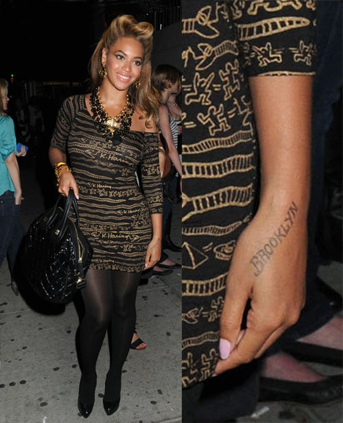 "Beyoncé's Possible Tattoo; Bret Michaels' ""Amazing"" Recovery"