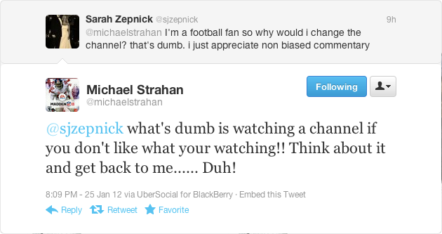 Don't Correct Michael Strahan's Grammar Or He May Suggest You Suck Your Dad's Dick