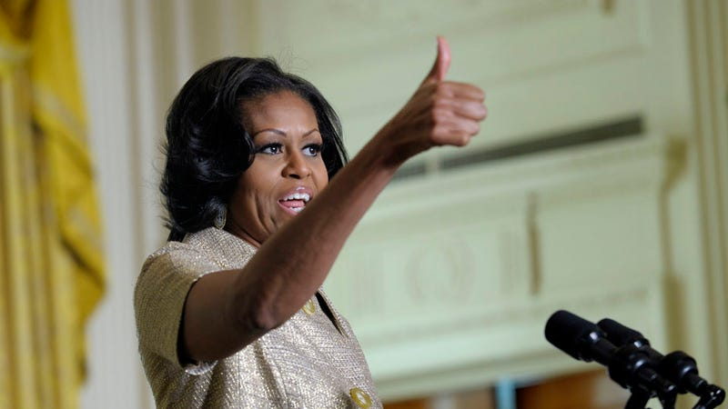 Michelle Obama Calls Kids to Tell Them to Get Ready For Santa, Kid Wants to See Her Instead