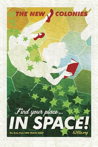 Vintage Time Travel Posters Shatter Space Time, Harken Back/Forward to Our Favorite Epochs