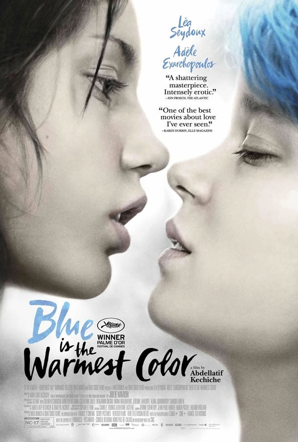 So I saw Blue is the Warmest Colour yesterday